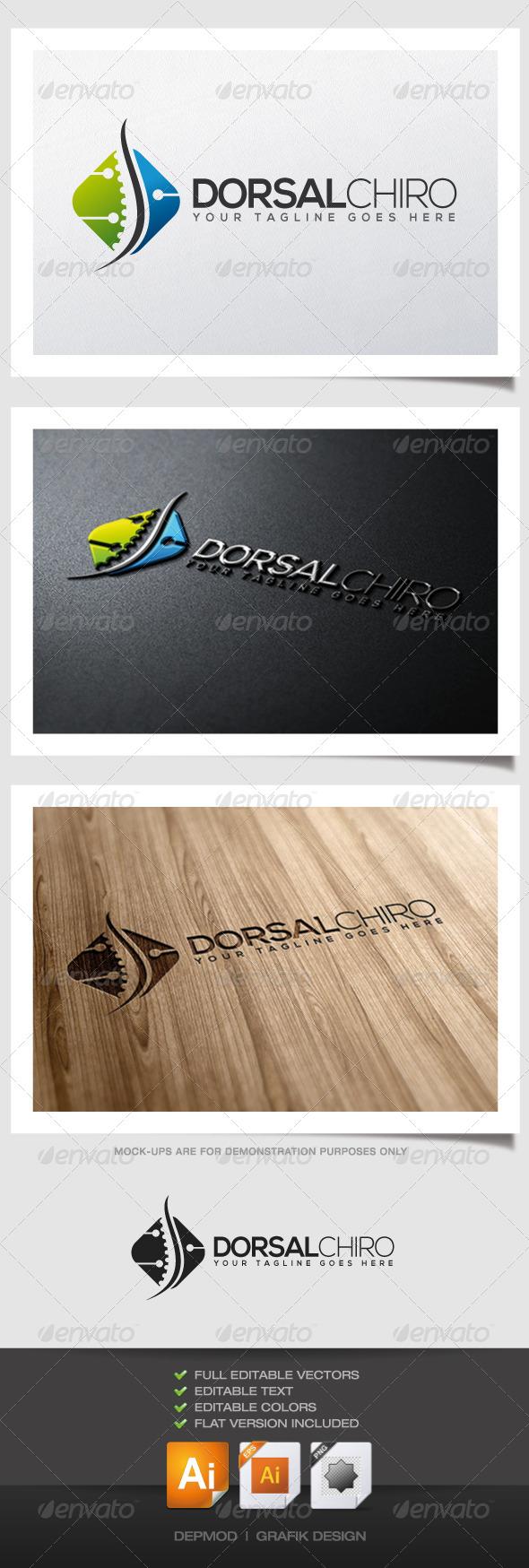 GraphicRiver Dorsal Chiro Logo 6216465