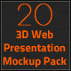 3D Web Presentation Mockup Bundle - GraphicRiver Item for Sale