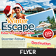 Winter Travel agent Flyer