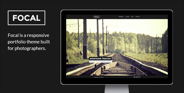 ThemeForest Focal A Responsive Photography Theme 6217061