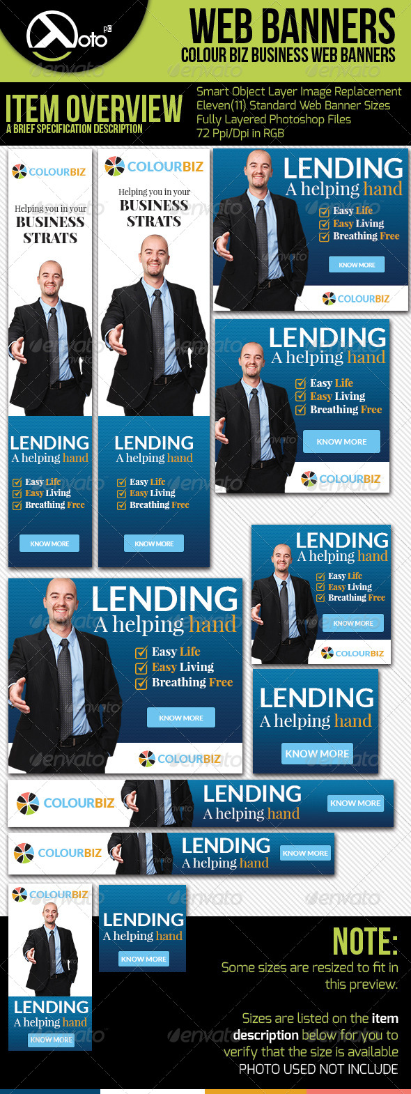GraphicRiver Business Consultation Web Banners 6217586