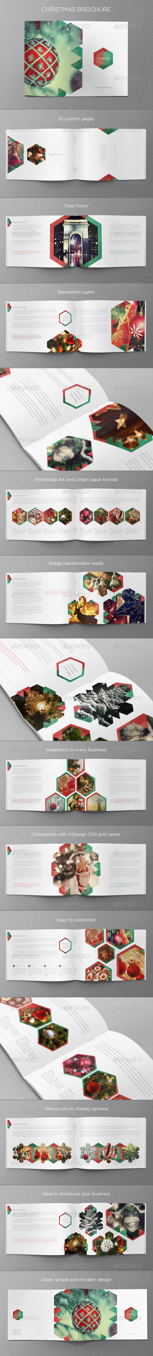 GraphicRiver Christmas Brochure 6217831