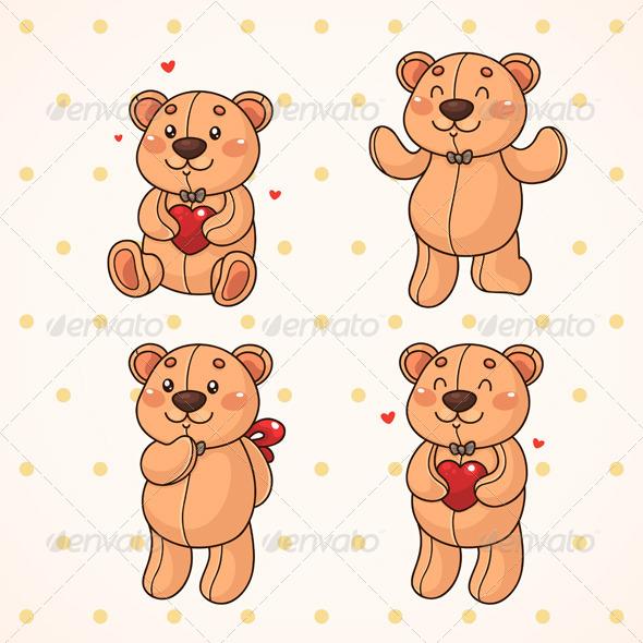 GraphicRiver Teddy Bear 6217844