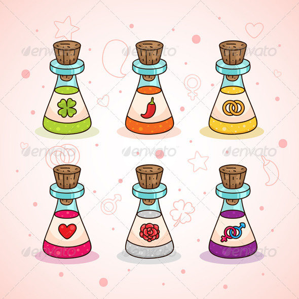 GraphicRiver Love Potions 6218002