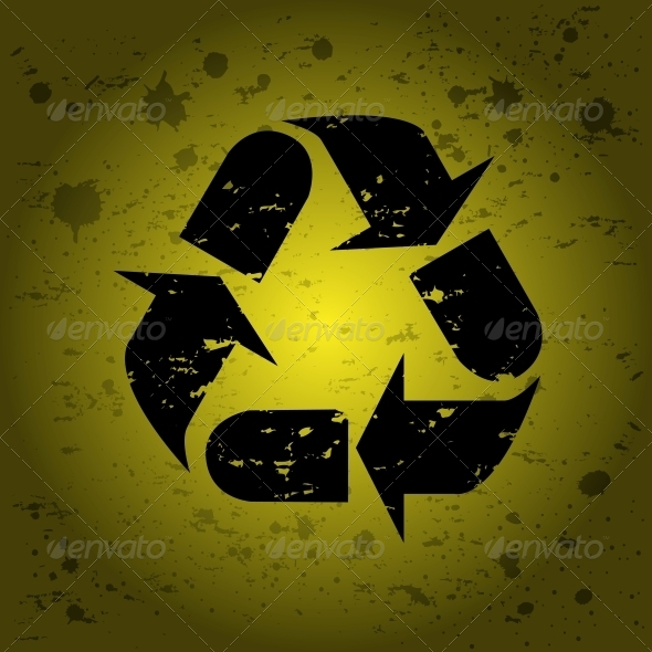 GraphicRiver Recycle Sign 6218233