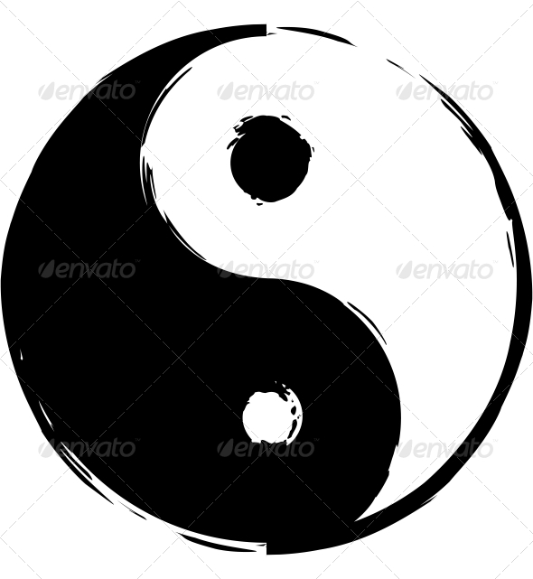 GraphicRiver Symbol of Yin-Yang 6218342