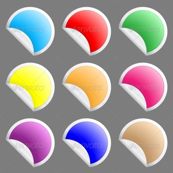 GraphicRiver Stickers 6218343