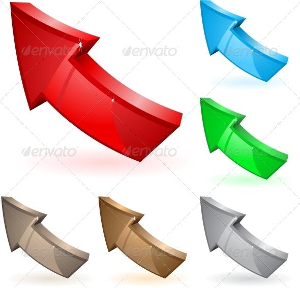 GraphicRiver Arrows 6218352