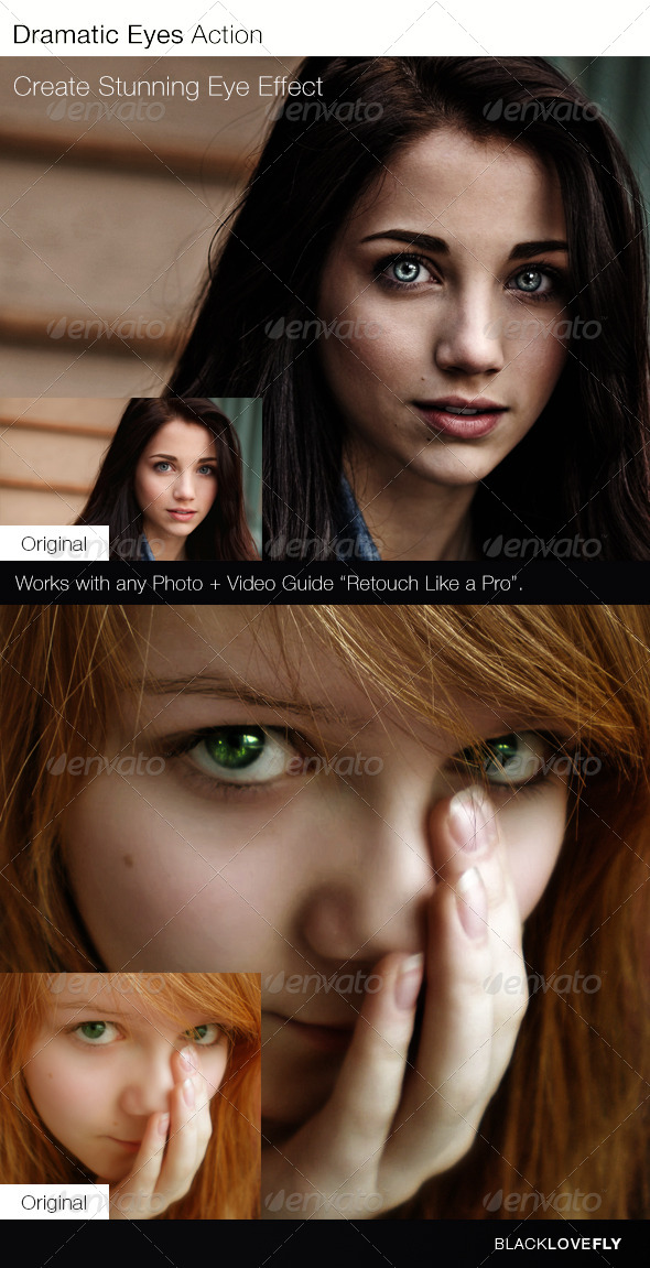 GraphicRiver Dramatic Eyes Action 6218586