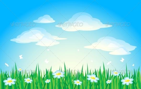 GraphicRiver Nature Background 6218953