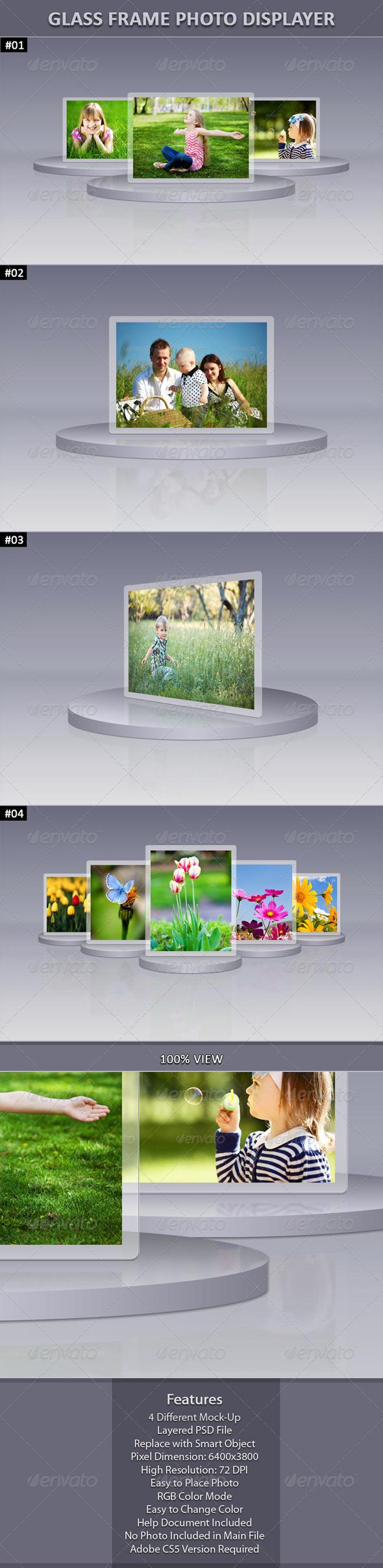 GraphicRiver Glass Frame Photo Display 6219288