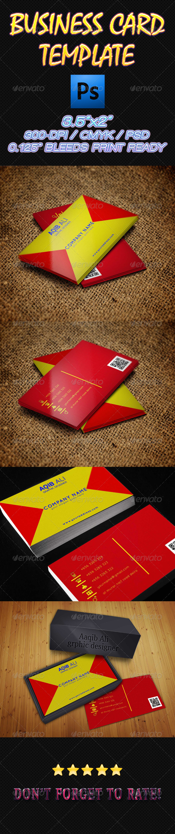 GraphicRiver Business Card 02 6219304