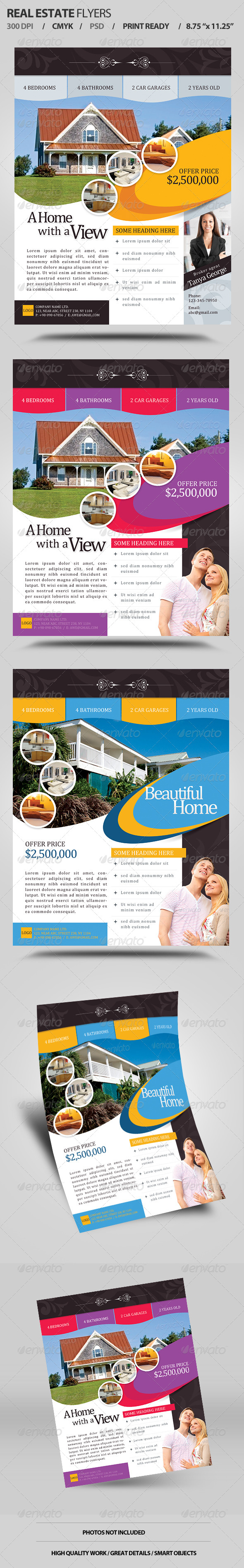 Real Estate Flyers V1 - Corporate Flyers