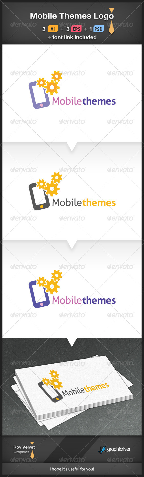GraphicRiver Mobile Themes Logo 6219496