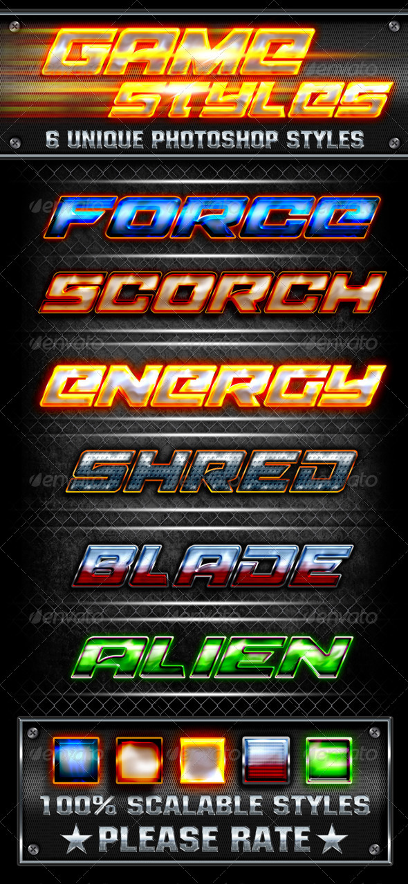 GraphicRiver Game Styles 6219660