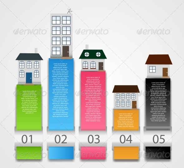 GraphicRiver Infographic Template Business Vector Illustration 6219663