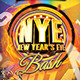 NYE New Year's Eve Part Flyer - GraphicRiver Item for Sale