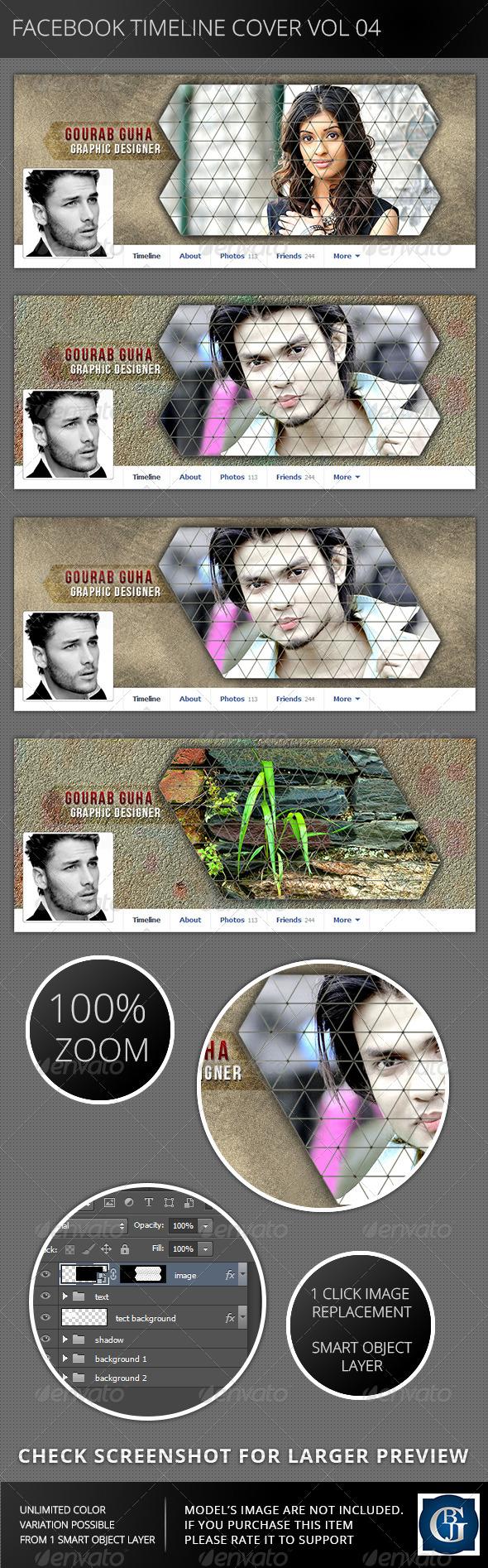 GraphicRiver Facebook Timeline Cover Vol 04 6219794