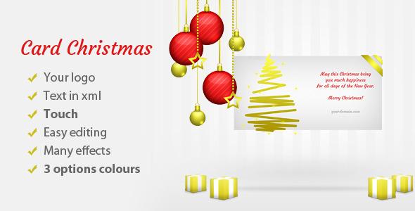 CodeCanyon Christmas Card Elegant 6220019
