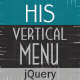 His jQuery - Animated Vertical Menu - CodeCanyon Item for Sale
