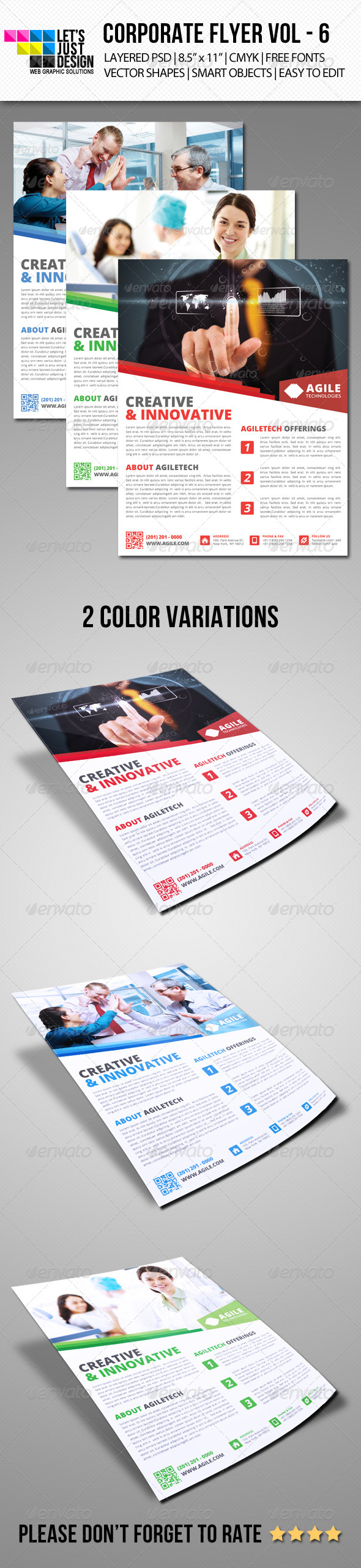 GraphicRiver Corporate Flyer Template Vol 6 6220077
