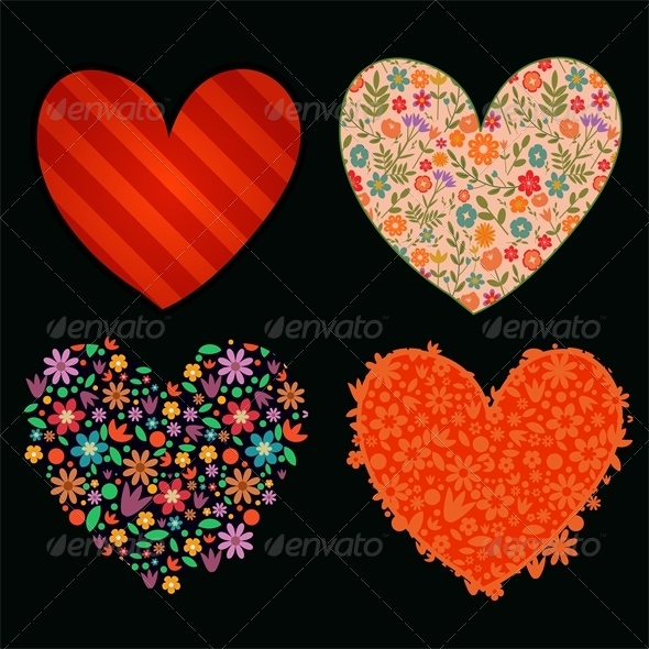 GraphicRiver Hearts Set 6220165