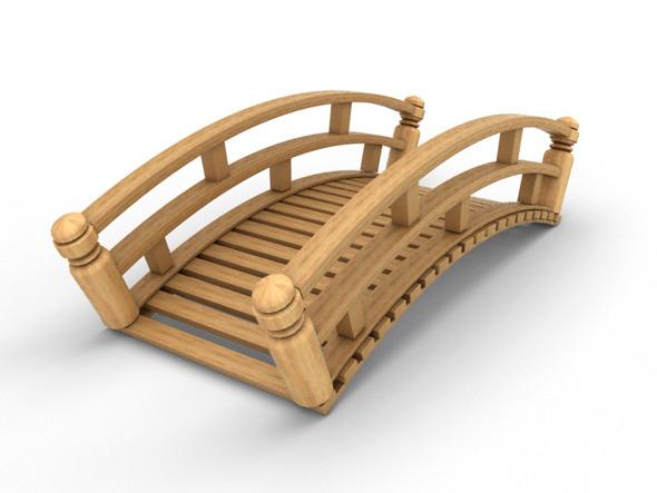 Garden Bridge - 3DOcean Item for Sale