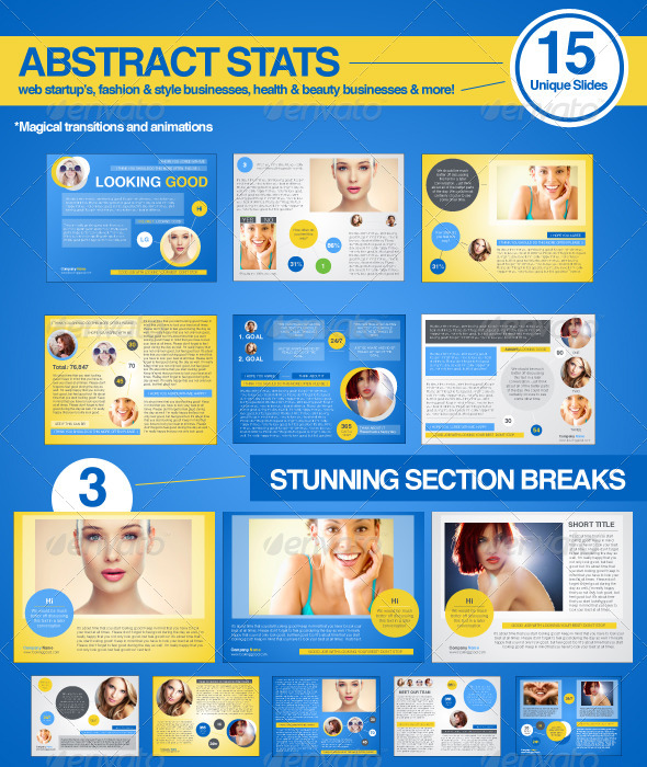 GraphicRiver Abstract Stats 6220245
