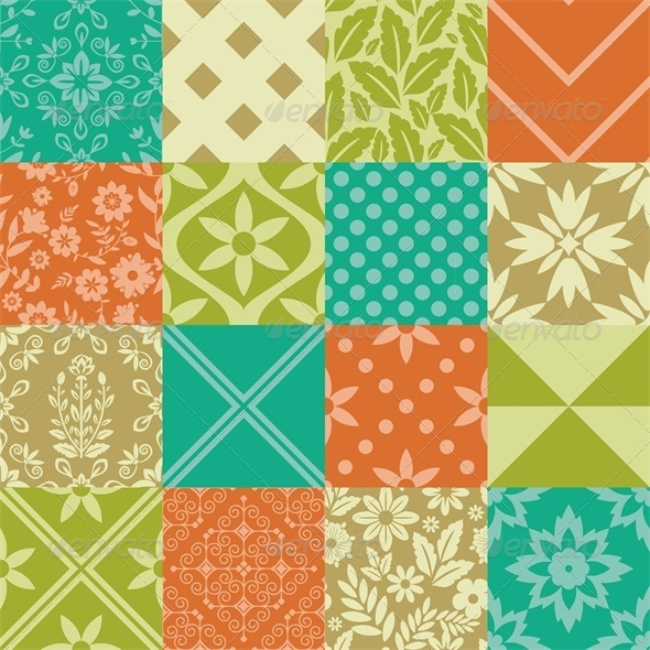 GraphicRiver Seamless Patterns 6220420