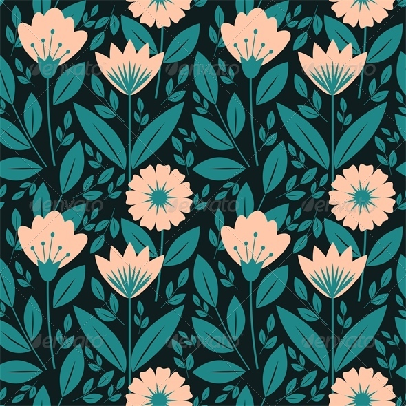 GraphicRiver Floral Pattern 6220511