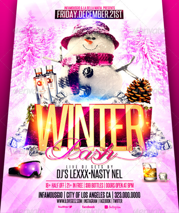 GraphicRiver Winter Bash 6220662