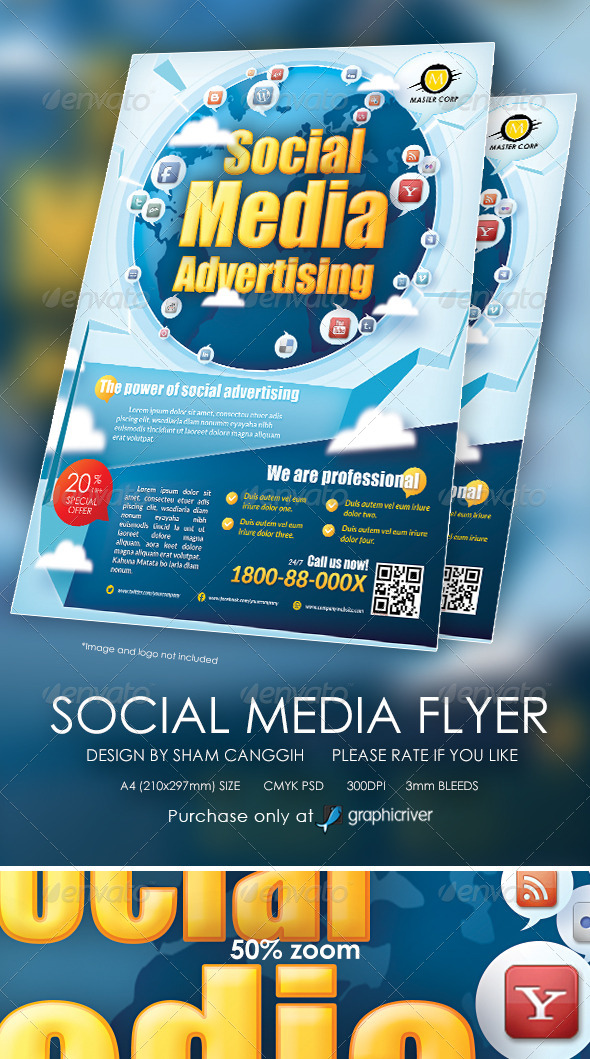 Modern Social Media Flyer / Magazine Ads - Miscellaneous Events