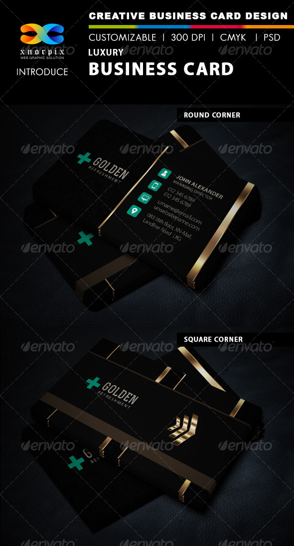 GraphicRiver Luxury Business Card 6221538