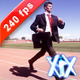 Businessman Racing On Track - VideoHive Item for Sale