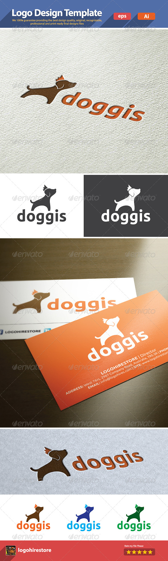 GraphicRiver Doggis 6222598