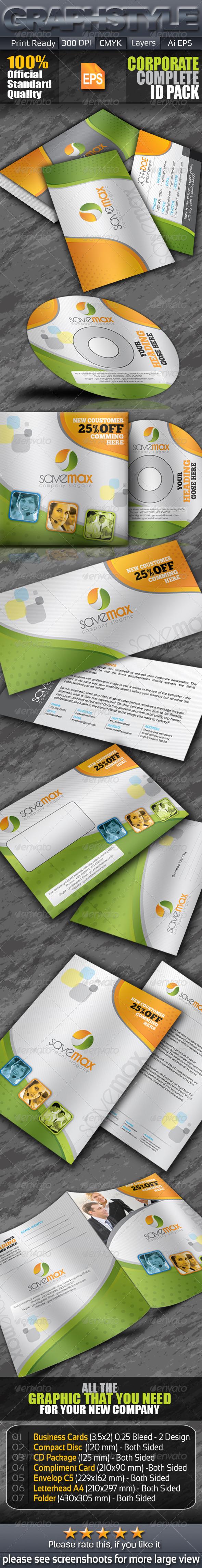 GraphicRiver Savemax Business Corporate Identity 6222692