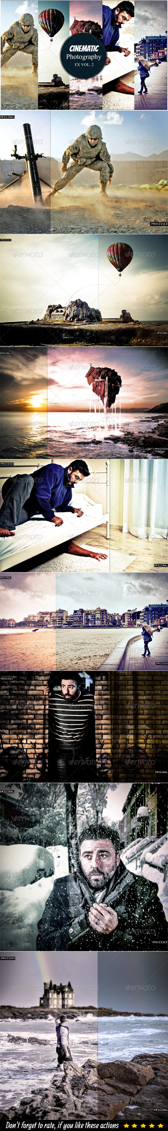 GraphicRiver Cinematic Photography Vol 2 6222930