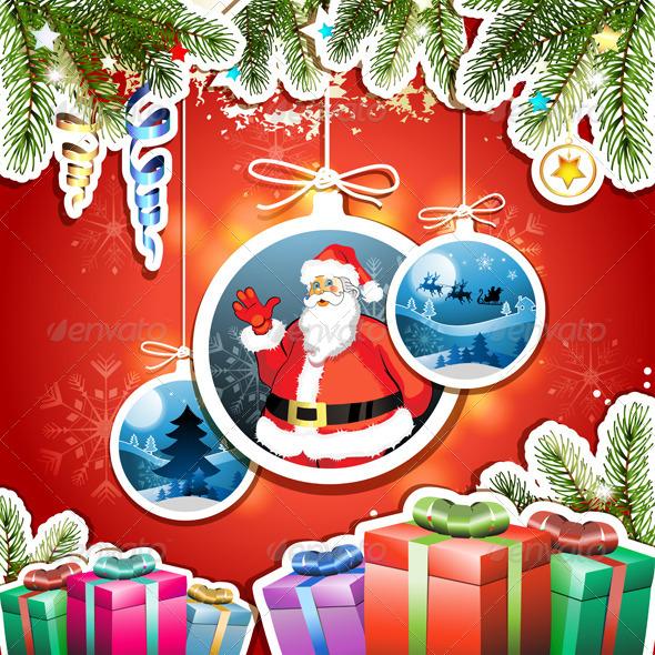 GraphicRiver Christmas Card 6223024
