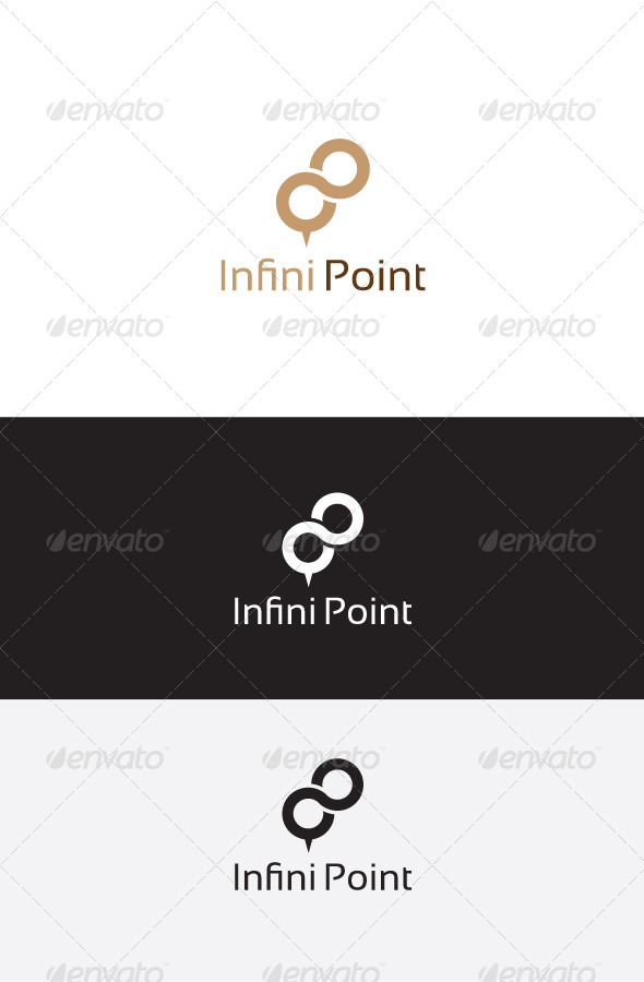 GraphicRiver Infinity Point Logo Template 6223073