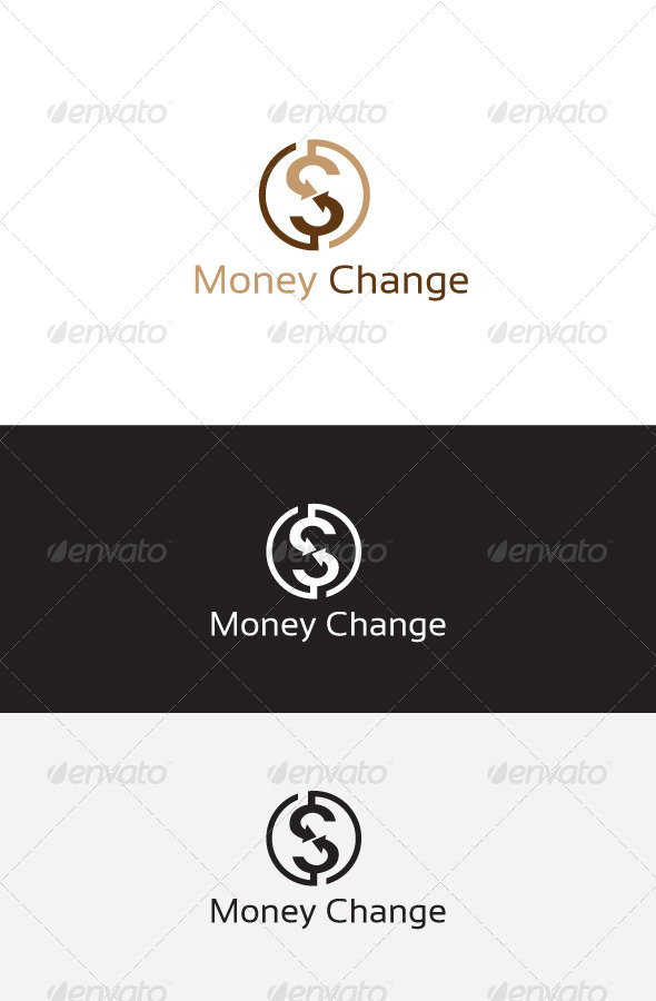 GraphicRiver Money Exchange S Letter Logo 6223092