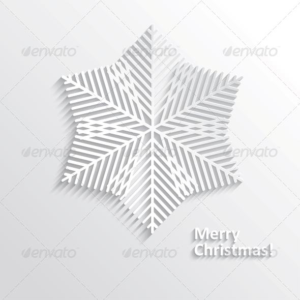 GraphicRiver Design Snowflake 6223107