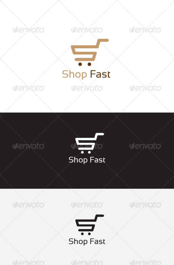 GraphicRiver Shop Cart S Letter Logo 6223202