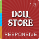 Doll Store Responsive Magento Theme - ThemeForest Item for Sale