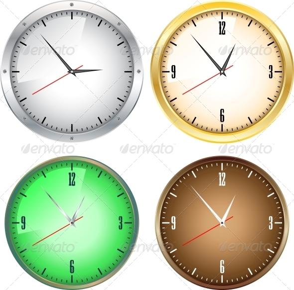 GraphicRiver Office Clocks 6226341
