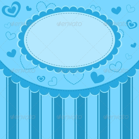 GraphicRiver Blue Kid Background 6226419