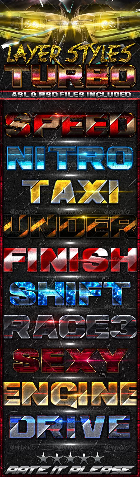 GraphicRiver Turbo Styles 6226542