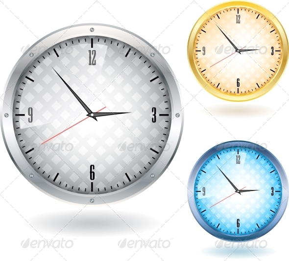 GraphicRiver Nice Clocks 6226838