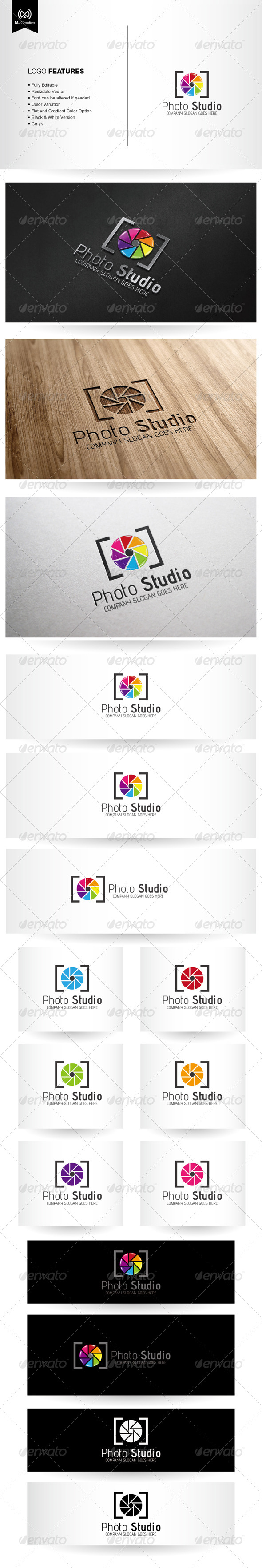 GraphicRiver Photo and Colorful shutter Logo 6227241