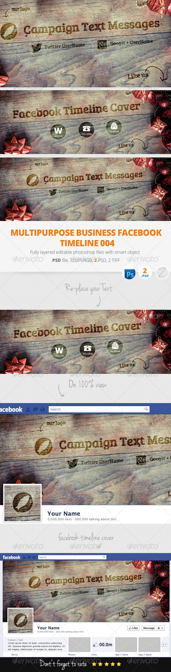 GraphicRiver Facebook Timeline Cover 6227699