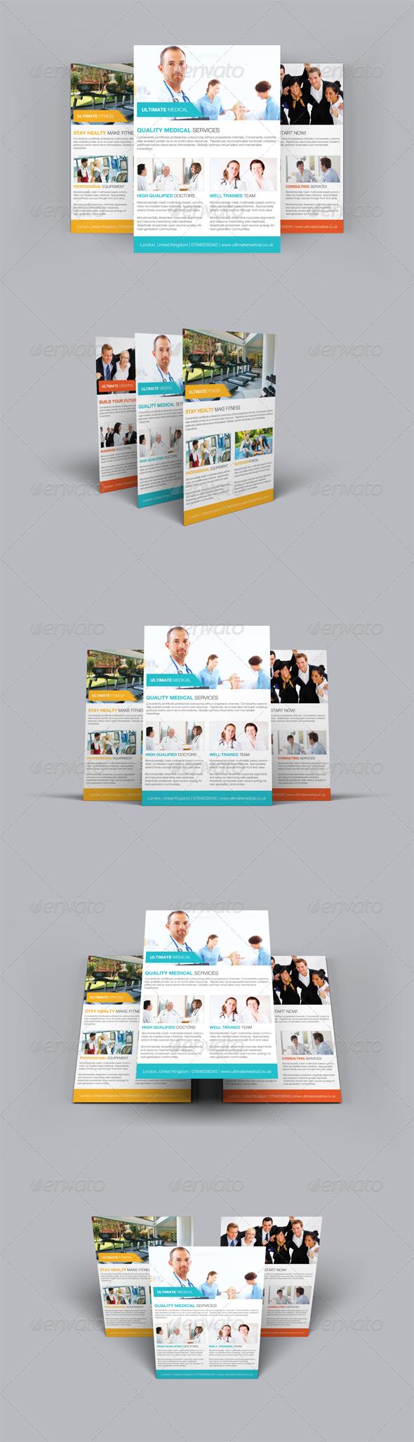 GraphicRiver Multipurpose Flyer 6228513